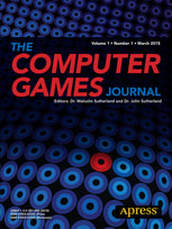The Computer Games Journal - Book Cover